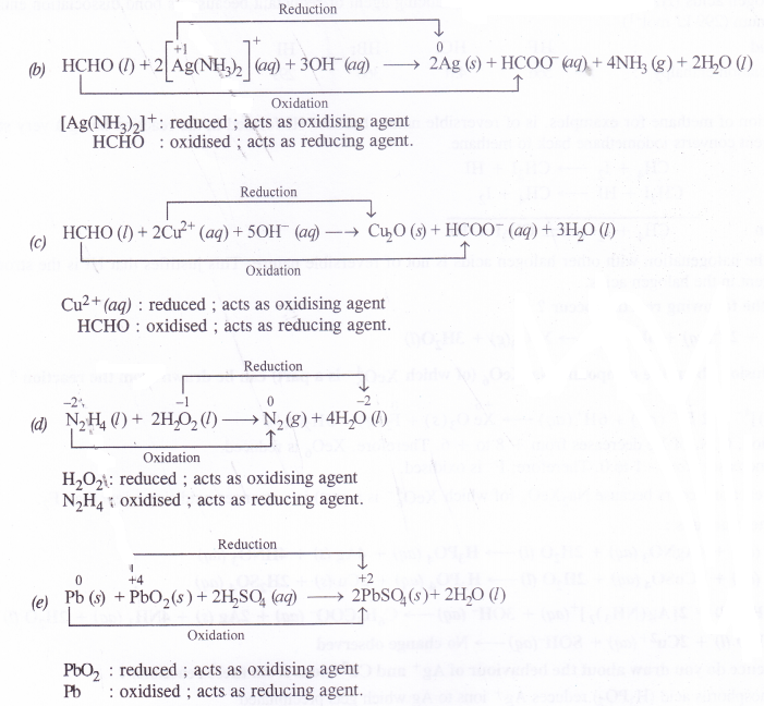 NCERT Solutions for Class 11 Chemistry Chapter 8 Redox Reactions 20