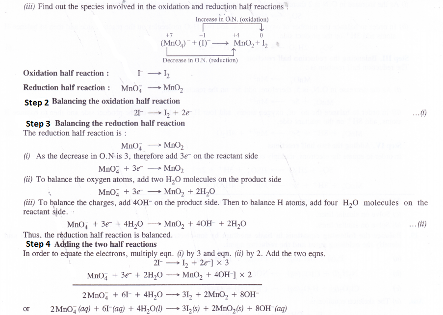 NCERT Solutions for Class 11 Chemistry Chapter 8 Redox Reactions 28