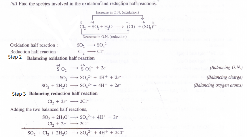 NCERT Solutions for Class 11 Chemistry Chapter 8 Redox Reactions 36