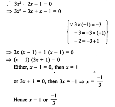RS Aggarwal Class 10 Solutions Chapter 10Quadratic Equations Ex 10A 17