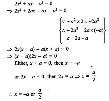 RS Aggarwal Class 10 Solutions Chapter 10Quadratic Equations Ex 10A 45