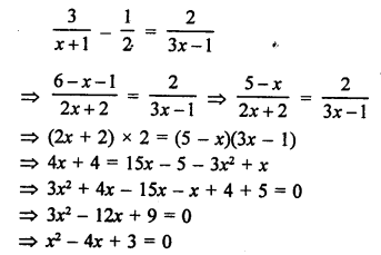 RS Aggarwal Class 10 Solutions Chapter 10Quadratic Equations Ex 10A 64