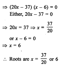 RS Aggarwal Class 10 Solutions Chapter 10Quadratic Equations Ex 10A 68