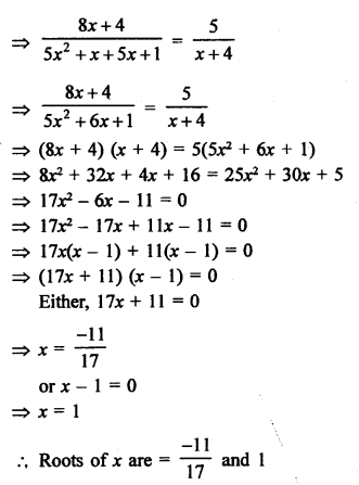 RS Aggarwal Class 10 Solutions Chapter 10Quadratic Equations Ex 10A 87