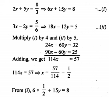 RS Aggarwal Class 10 Solutions Chapter 3 Linear equations in two variables Ex 3B 10