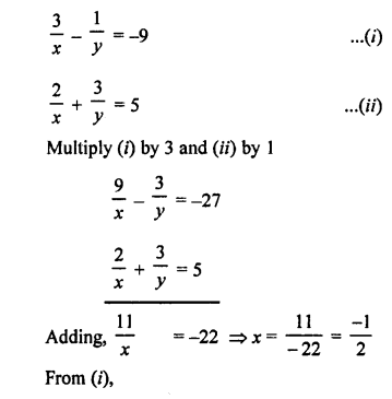 RS Aggarwal Class 10 Solutions Chapter 3 Linear equations in two variables Ex 3B 21