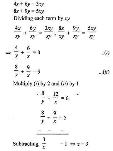 RS Aggarwal Class 10 Solutions Chapter 3 Linear equations in two variables Ex 3B 29