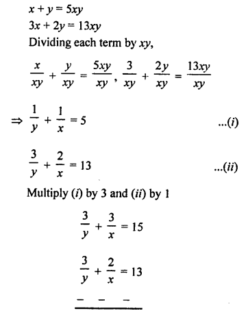 RS Aggarwal Class 10 Solutions Chapter 3 Linear equations in two variables Ex 3B 31