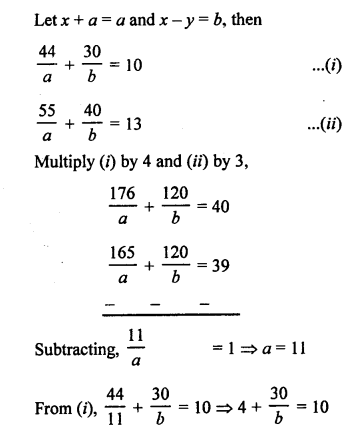 RS Aggarwal Class 10 Solutions Chapter 3 Linear equations in two variables Ex 3B 39