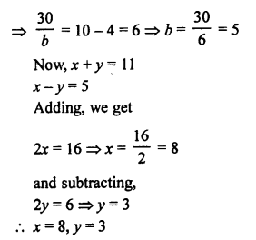 RS Aggarwal Class 10 Solutions Chapter 3 Linear equations in two variables Ex 3B 40