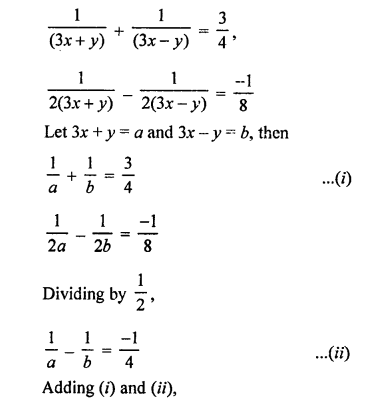 RS Aggarwal Class 10 Solutions Chapter 3 Linear equations in two variables Ex 3B 45