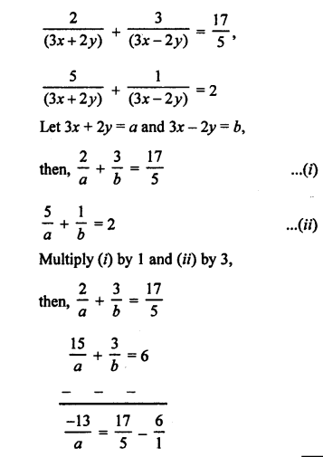 RS Aggarwal Class 10 Solutions Chapter 3 Linear equations in two variables Ex 3B 50