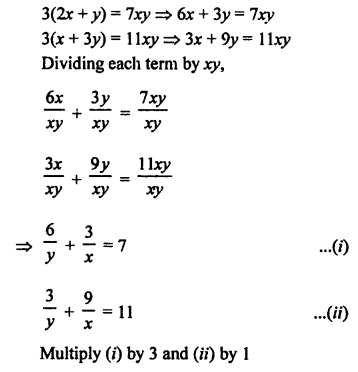 RS Aggarwal Class 10 Solutions Chapter 3 Linear equations in two variables Ex 3B 52