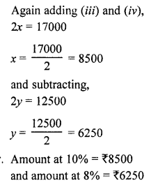 RS Aggarwal Class 10 Solutions Chapter 3 Linear equations in two variables Ex 3E 12