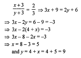 RS Aggarwal Class 10 Solutions Chapter 3 Linear equations in two variables Ex 3E 9