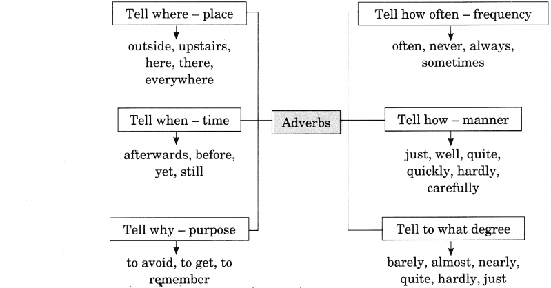 Adverb Exercises For Class 8 Cbse With Answers