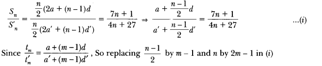 Arithmetic Progressions Class 10 Extra Questions Maths Chapter 5 with Solutions Answers 11