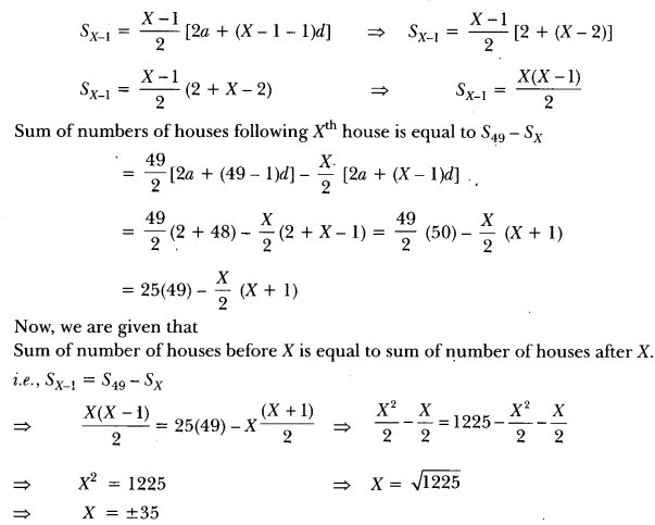 Arithmetic Progressions Class 10 Extra Questions Maths Chapter 5 with Solutions Answers 16