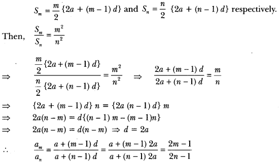 Arithmetic Progressions Class 10 Extra Questions Maths Chapter 5 with Solutions Answers 22