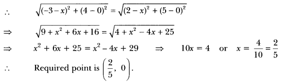 Coordinate Geometry Class 10 Extra Questions Maths Chapter 7 with Solutions Answers 10