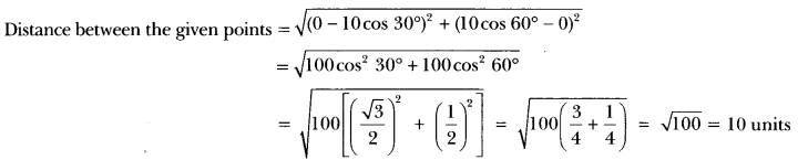 Coordinate Geometry Class 10 Extra Questions Maths Chapter 7 with Solutions Answers 12