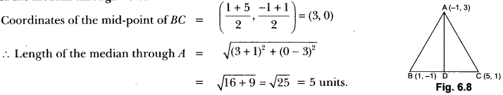 Coordinate Geometry Class 10 Extra Questions Maths Chapter 7 with Solutions Answers 13