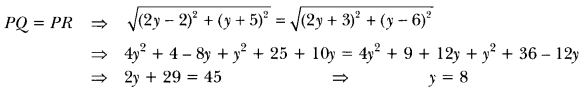 Coordinate Geometry Class 10 Extra Questions Maths Chapter 7 with Solutions Answers 24