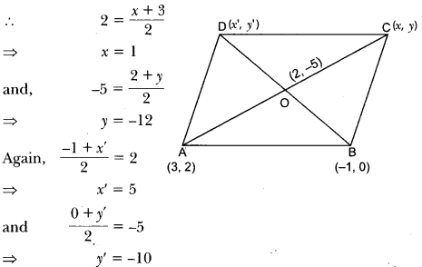 Coordinate Geometry Class 10 Extra Questions Maths Chapter 7 with Solutions Answers 25