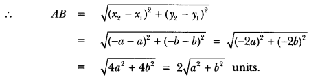 Coordinate Geometry Class 10 Extra Questions Maths Chapter 7 with Solutions Answers 28