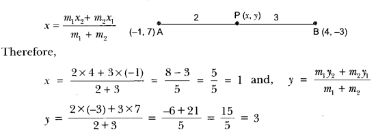 Coordinate Geometry Class 10 Extra Questions Maths Chapter 7 with Solutions Answers 34