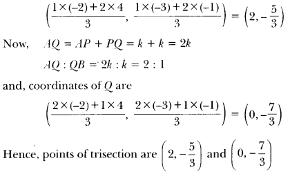 Coordinate Geometry Class 10 Extra Questions Maths Chapter 7 with Solutions Answers 36