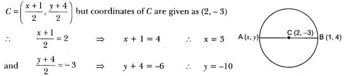 Coordinate Geometry Class 10 Extra Questions Maths Chapter 7 with Solutions Answers 40