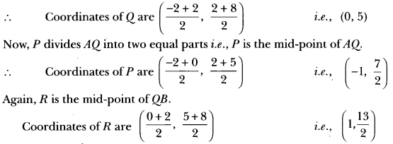 Coordinate Geometry Class 10 Extra Questions Maths Chapter 7 with Solutions Answers 44