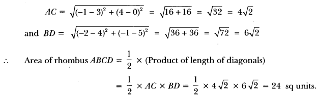 Coordinate Geometry Class 10 Extra Questions Maths Chapter 7 with Solutions Answers 45