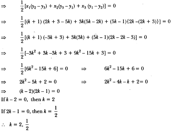 Coordinate Geometry Class 10 Extra Questions Maths Chapter 7 with Solutions Answers 50