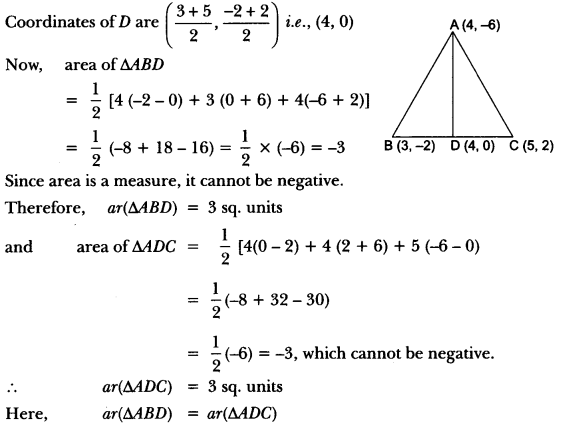 Coordinate Geometry Class 10 Extra Questions Maths Chapter 7 with Solutions Answers 57
