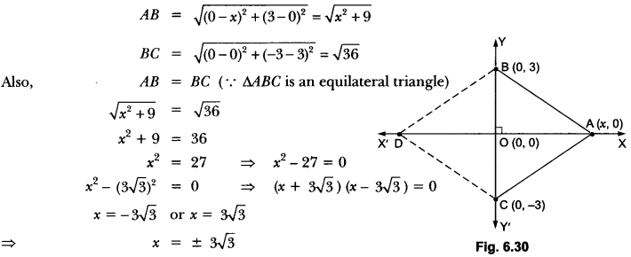 Coordinate Geometry Class 10 Extra Questions Maths Chapter 7 with Solutions Answers 61