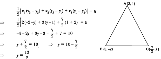 Coordinate Geometry Class 10 Extra Questions Maths Chapter 7 with Solutions Answers 62
