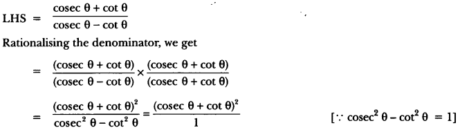 Introduction to Trigonometry Class 10 Extra Questions Maths Chapter 8 with Solutions Answers 68