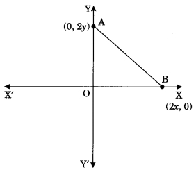 MCQ Questions for Class 10 Maths Chapter 7 Coordinate Geometry with Answers