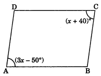 MCQ Questions for Class 9 Maths Chapter 8 Quadrilaterals with Answers