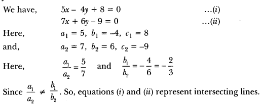 Pair of Linear Equations in Two Variables Class 10 Extra Questions Maths Chapter 3 with Solutions Answers 10