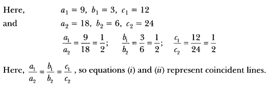 Pair of Linear Equations in Two Variables Class 10 Extra Questions Maths Chapter 3 with Solutions Answers 11