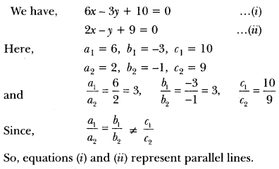 Pair of Linear Equations in Two Variables Class 10 Extra Questions Maths Chapter 3 with Solutions Answers 12