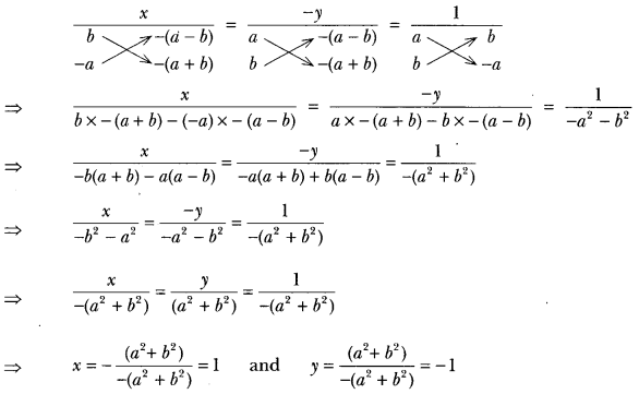 Pair of Linear Equations in Two Variables Class 10 Extra Questions Maths Chapter 3 with Solutions Answers 13