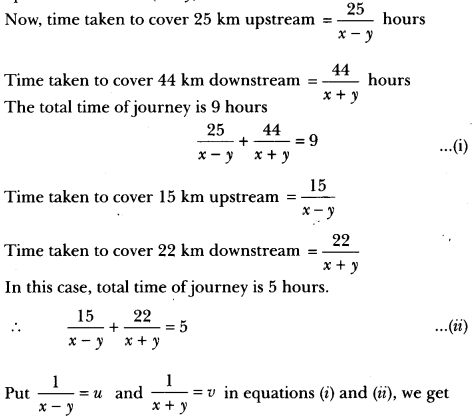 Pair of Linear Equations in Two Variables Class 10 Extra Questions Maths Chapter 3 with Solutions Answers 56