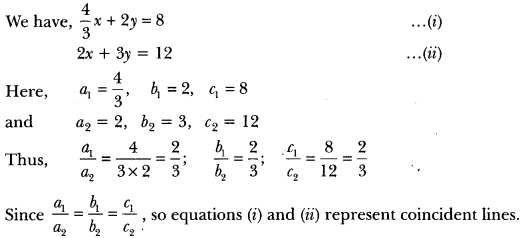 Pair of Linear Equations in Two Variables Class 10 Extra Questions Maths Chapter 3 with Solutions Answers 9