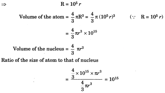 Structure of the Atom Class 9 Extra Questions and Answers Science Chapter 4 img 5