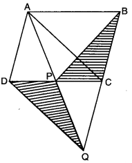Areas of Parallelograms and Triangles Class 9 Extra Questions Maths Chapter 9 with Solutions Answers 14