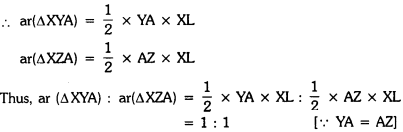 Areas of Parallelograms and Triangles Class 9 Extra Questions Maths Chapter 9 with Solutions Answers 2